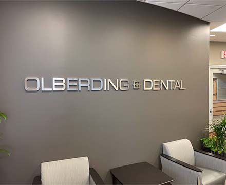Olberding Dental entrance